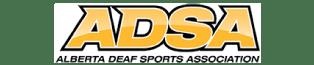 ADSA - Alberta Deaf Sports Association logo