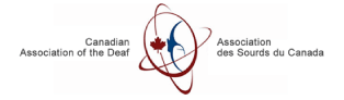 Canadian Association of the Deaf logo