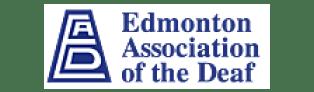 Edmonton Association of the Deaf logo
