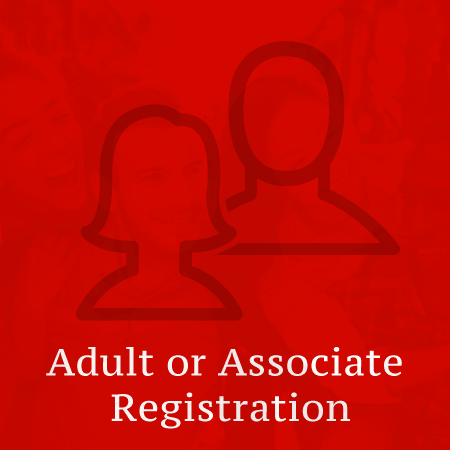 Adult or Associate Registration image for online registration